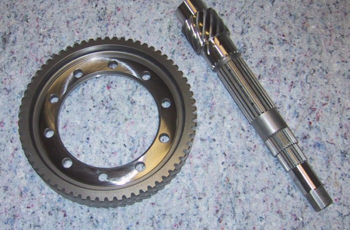 H & F Series final drive gears